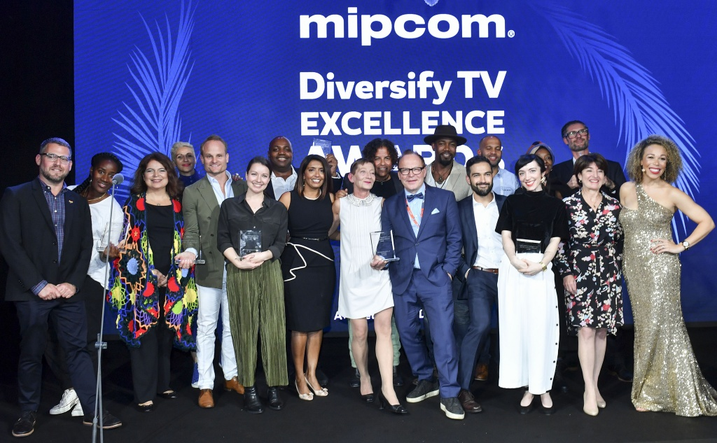 Вручение Diversify TV Excellence Awards на MIPCOM 2018